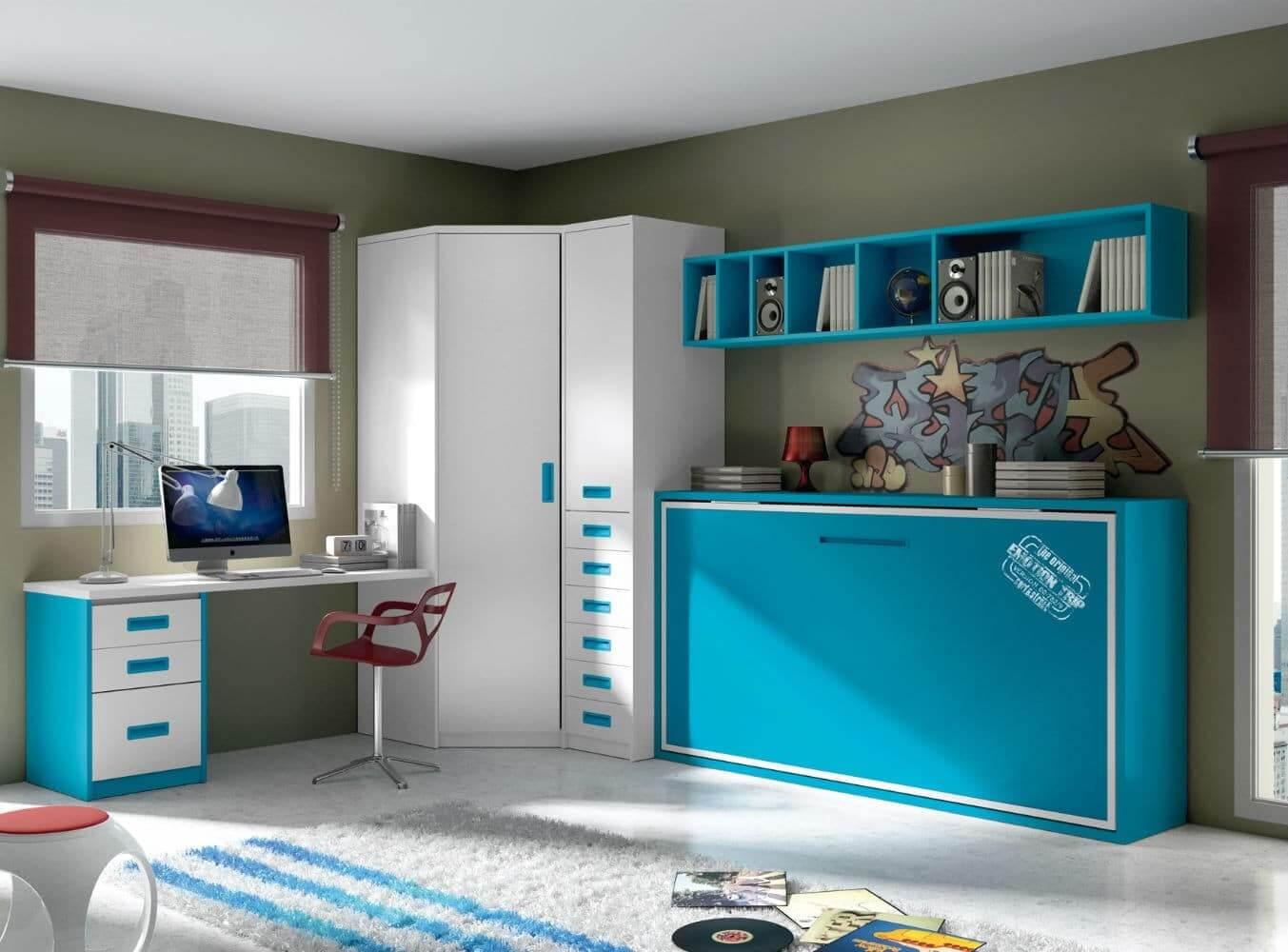 Dormitorios Juveniles Que Ahorran Espacio Blog De Muebles Y  # Muebles Sedavi Actual