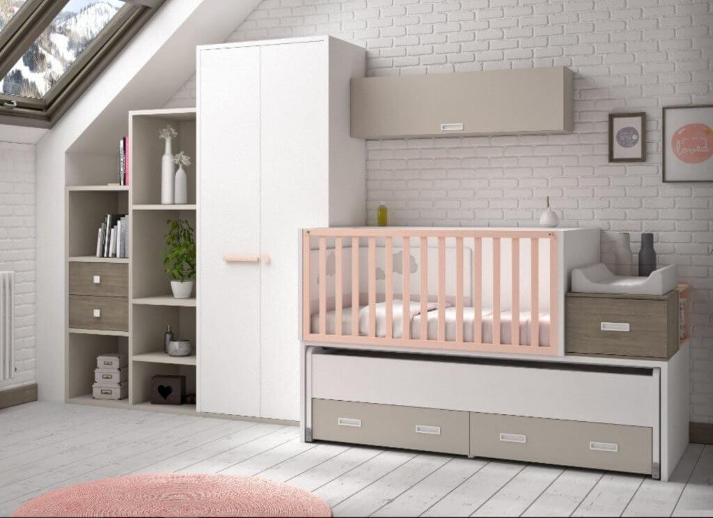 Dormitorios a medida - Cunas convertibles