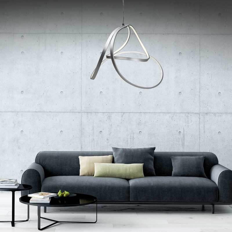 lampara led techo