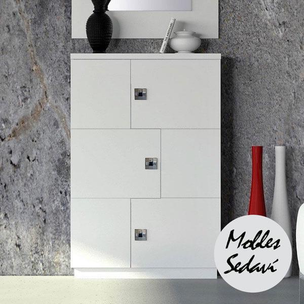 recibidor moderno diseno lacado mobles sedavi3 - Recibidores modernos: Ideas para decorar tu entrada