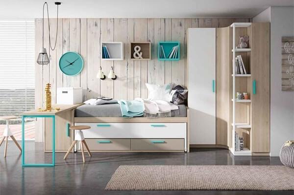 Dormitorio infantil - juvenil: Compactos