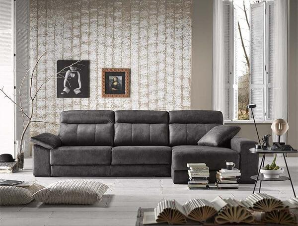 sofas grandes - Tendencias de mobiliario y decoración para 2018 (I)