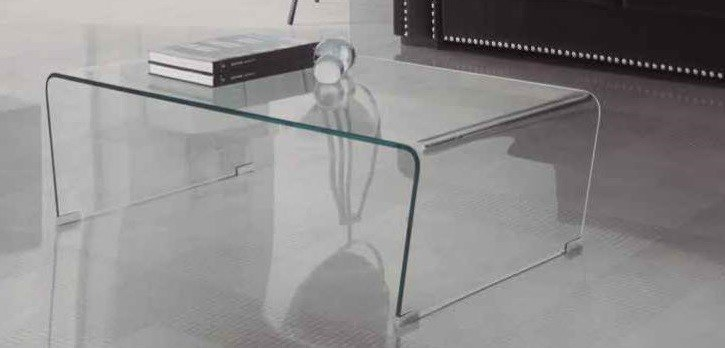 Mesa de centro cristal