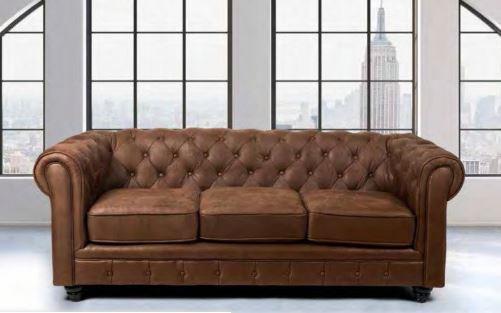 sofá chester clásico
