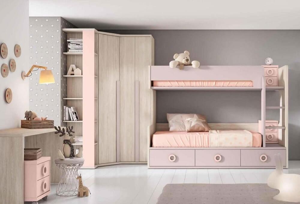 Literas dormitorios juveniles