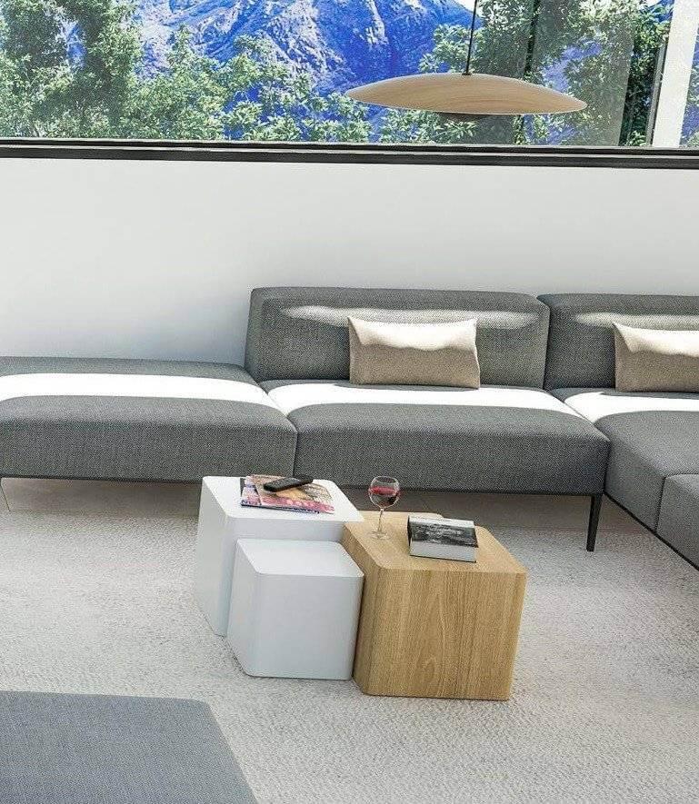 Mesa de centro modular