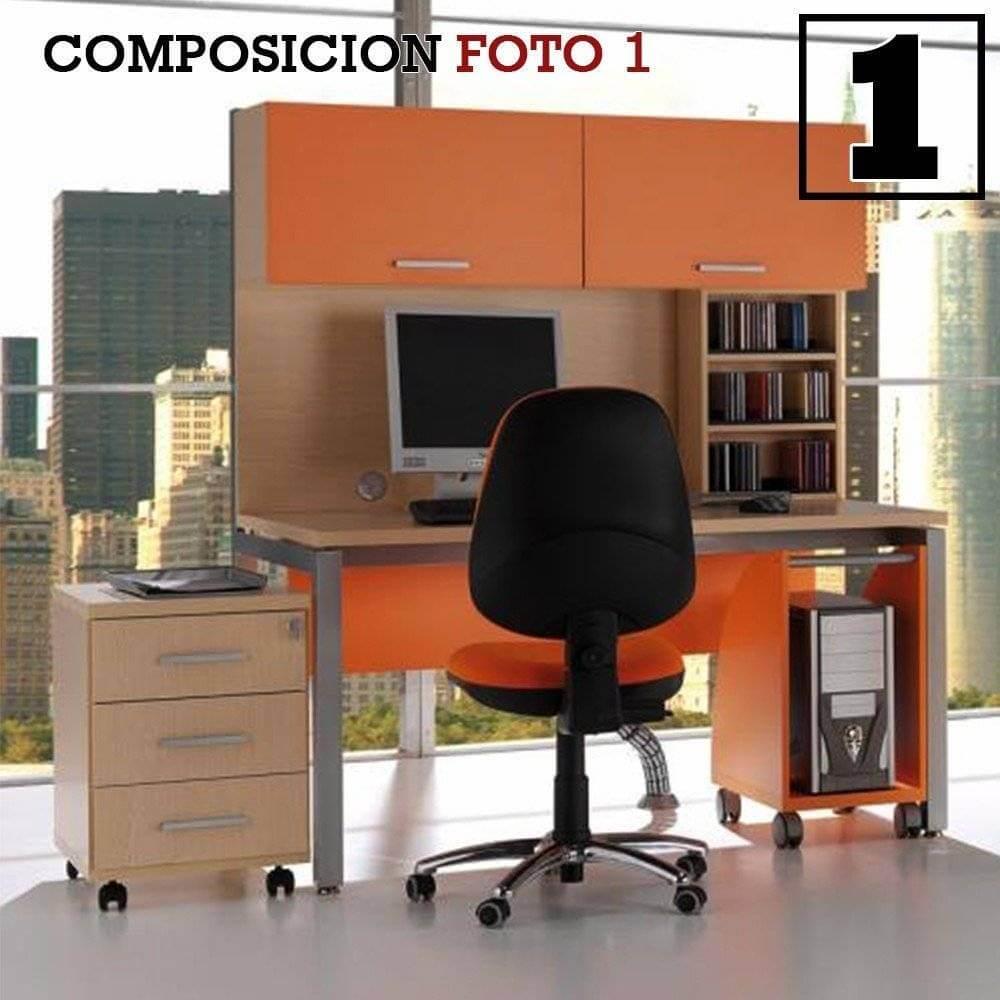 escritorio juvenil oficina 41 nova 37 - Cómo amueblar una habitación o despacho de estudio