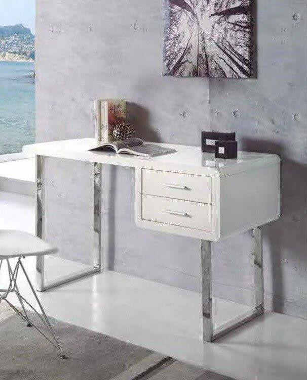estudio escritorio moderna diseno 916 902 - Cómo amueblar una habitación o despacho de estudio