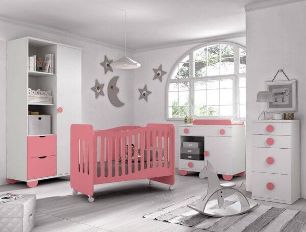 cuna moderna infantil 2 e1541002267707 - Cunas para bebé de gran diseño y seguridad