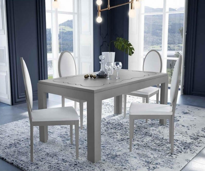 mesa de comedor moderna