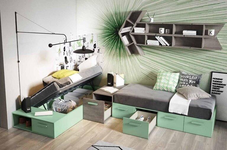 dormitorio juvenil infantil moderno 8 1 - Los mejores dormitorios juveniles con aire moderno