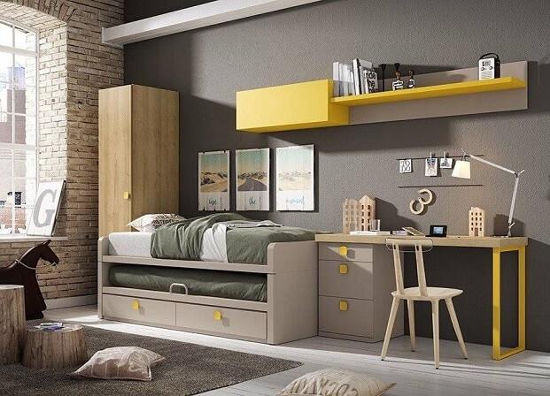 dormitorio juvenil moderno 3 1 - Los mejores dormitorios juveniles con aire moderno