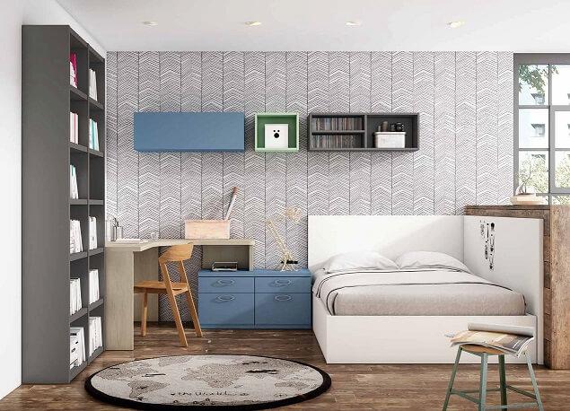 dormitorio juvenil moderno 9 - Los mejores dormitorios juveniles con aire moderno