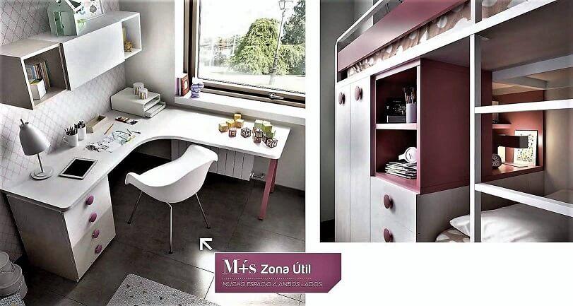 litera dormitorio juvenil infantil moderno 7 - Los mejores dormitorios juveniles con aire moderno