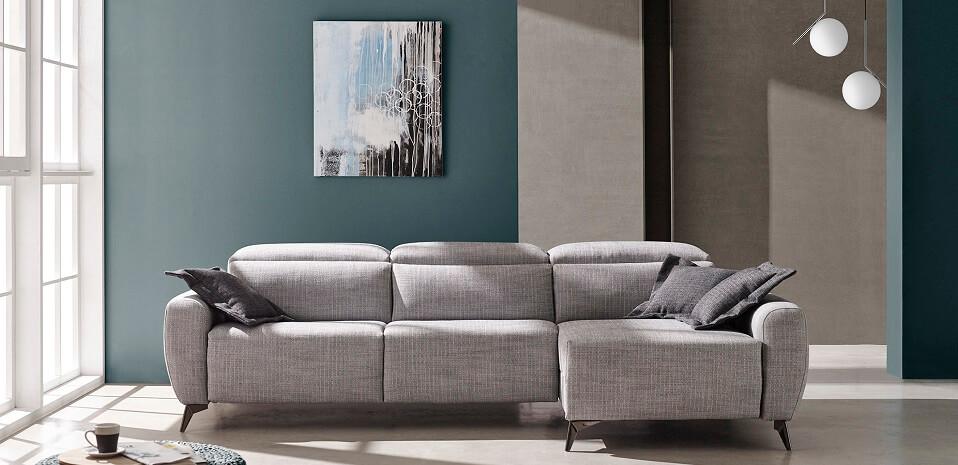 Sofás chaise longue modernos