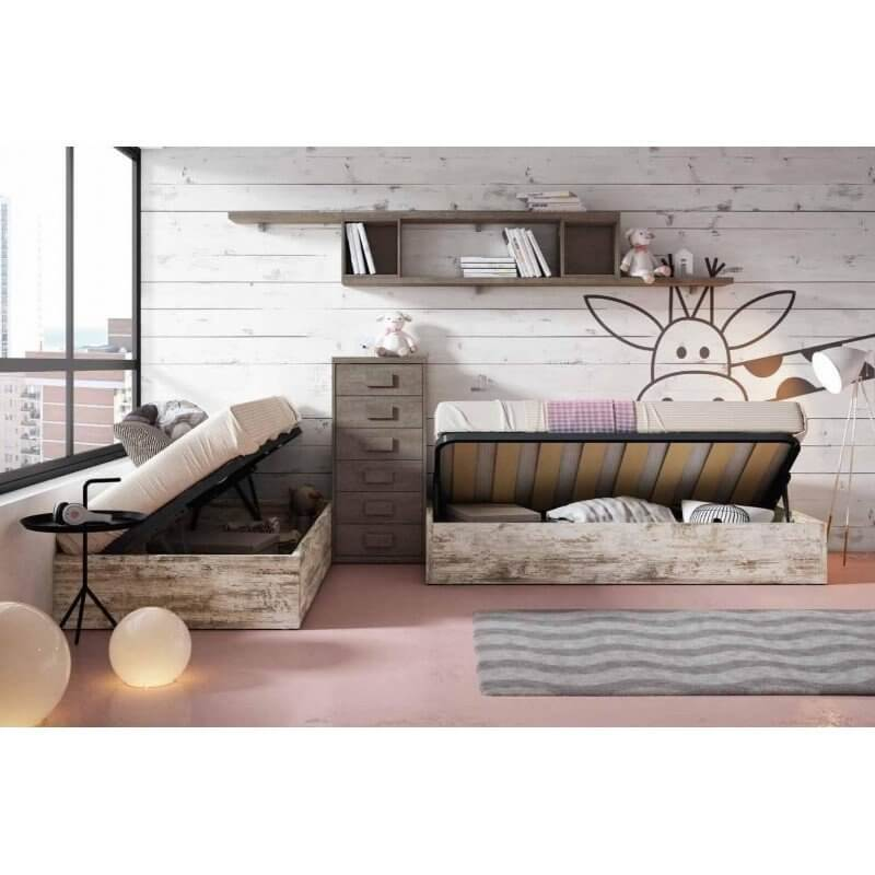 1 - Las camas compactas como primera opción para ahorrar espacio