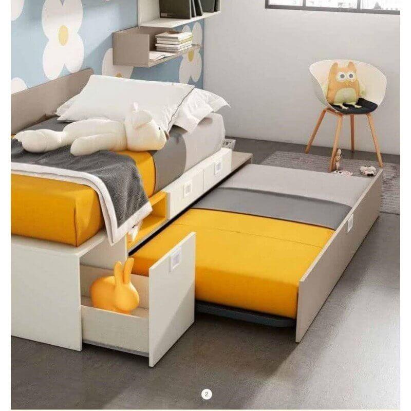 2 1 - Las camas compactas como primera opción para ahorrar espacio