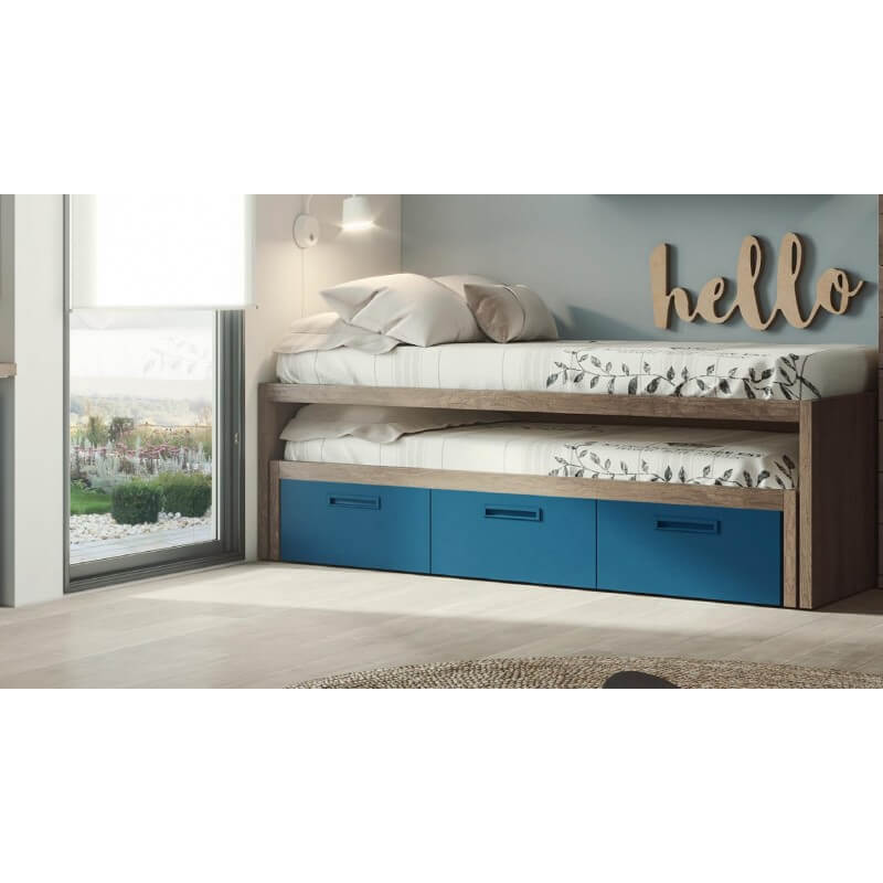 3 - Las camas compactas como primera opción para ahorrar espacio